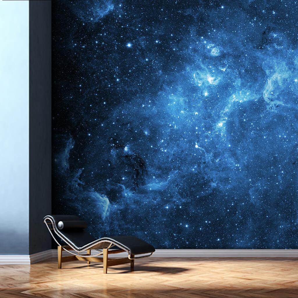 Gece gökyüzü uzay galaksi samanyolu yıldızlar duvar kağıdı