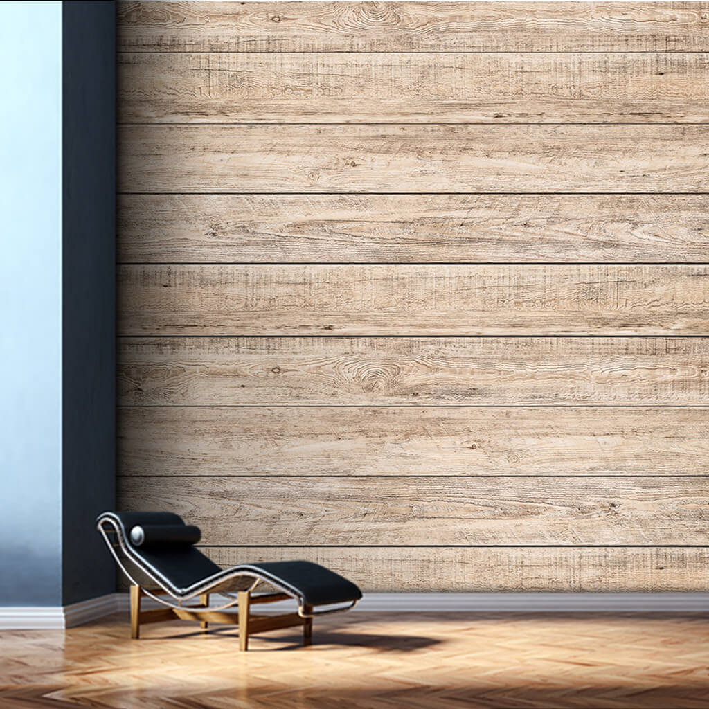 Fir tree horizontal cut wood flooring board wall mural
