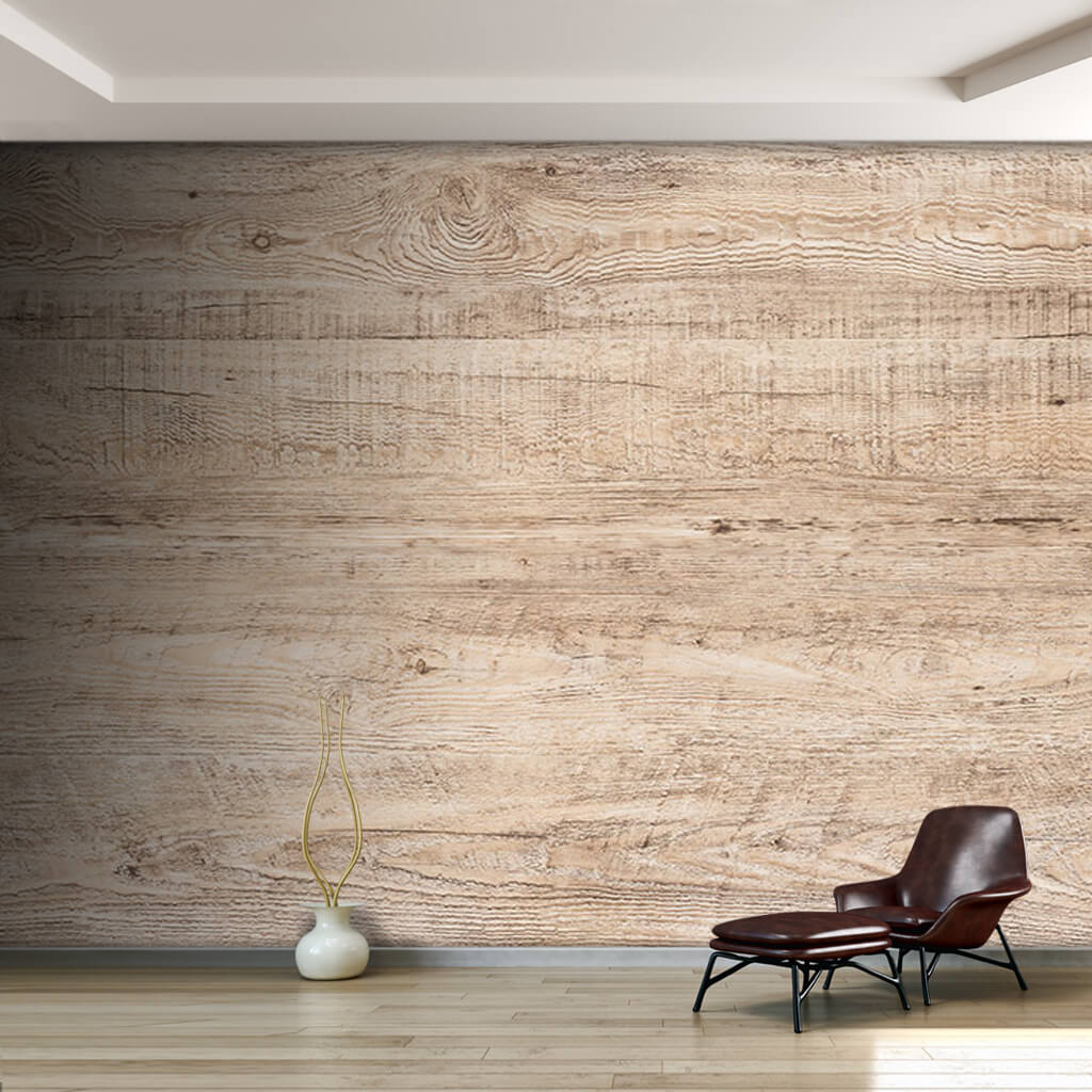Maple horizontal cut wood flooring board custom wall mural