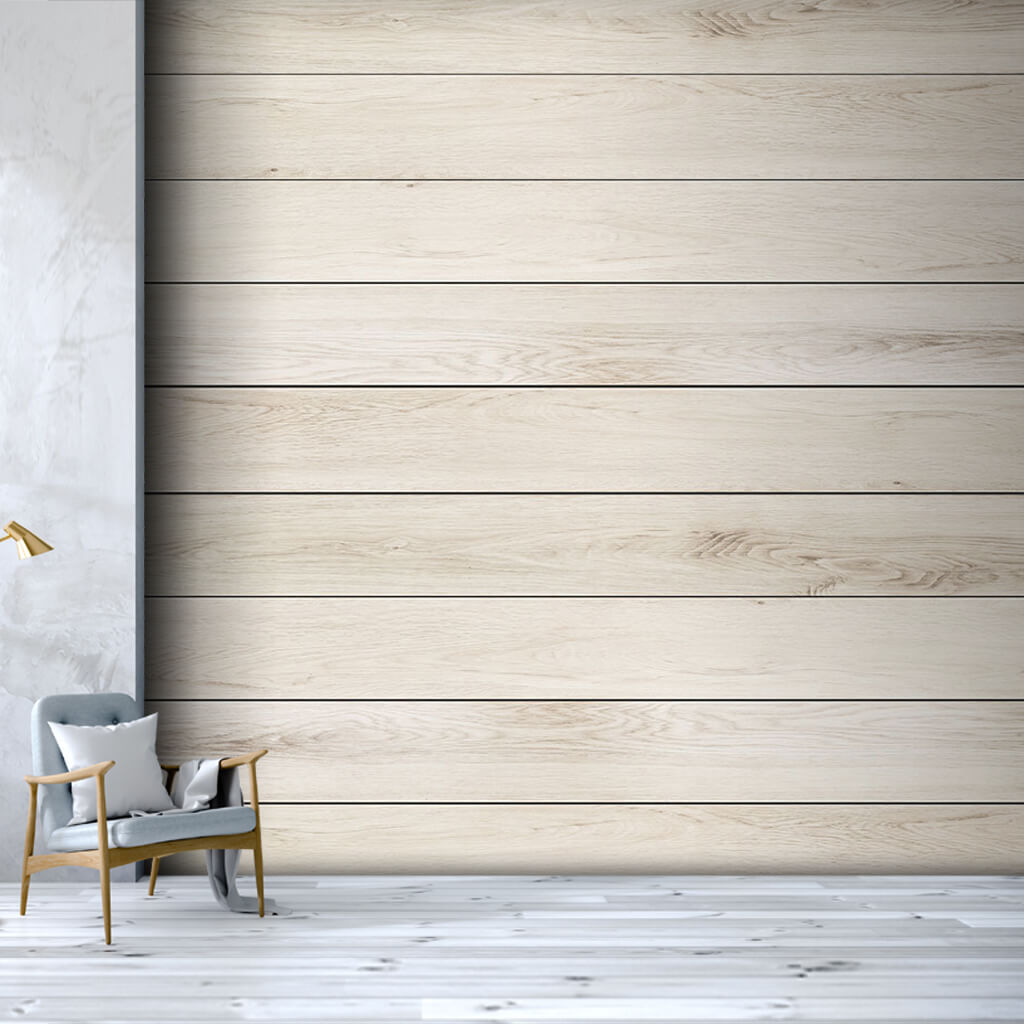 Ash tree horizontal cut wood flooring board wall mural