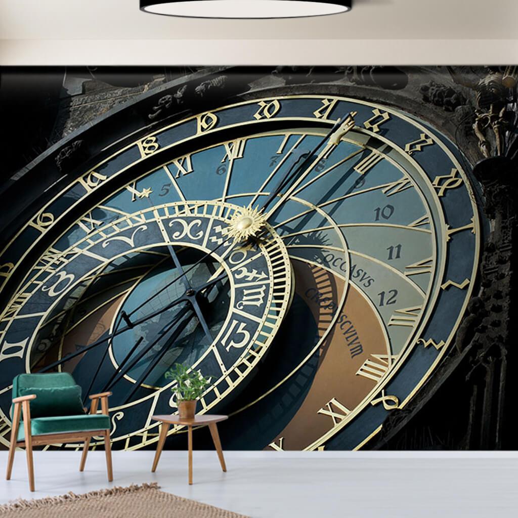 Prag astronomik saat zodyak duvar kağıdı