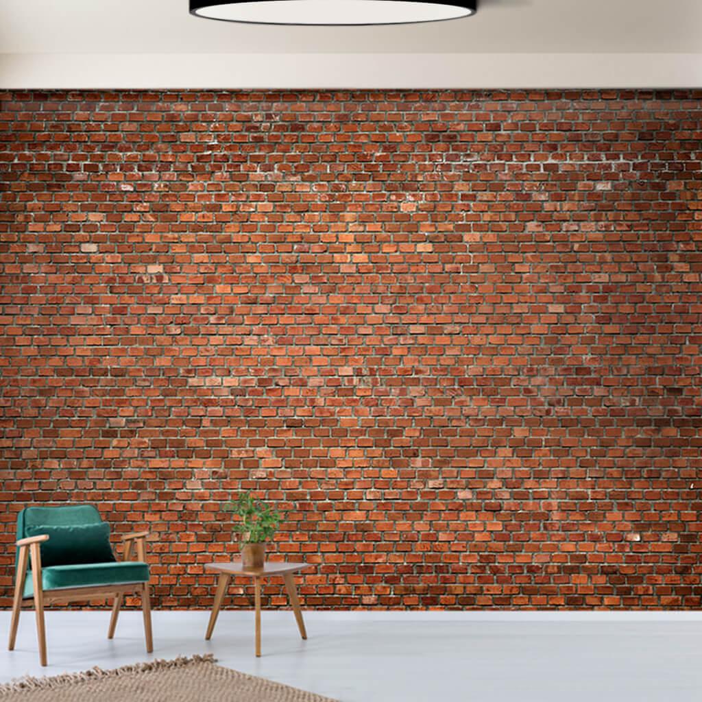 Eski tuğla dokulu örme duvar 3D duvar kağıdı