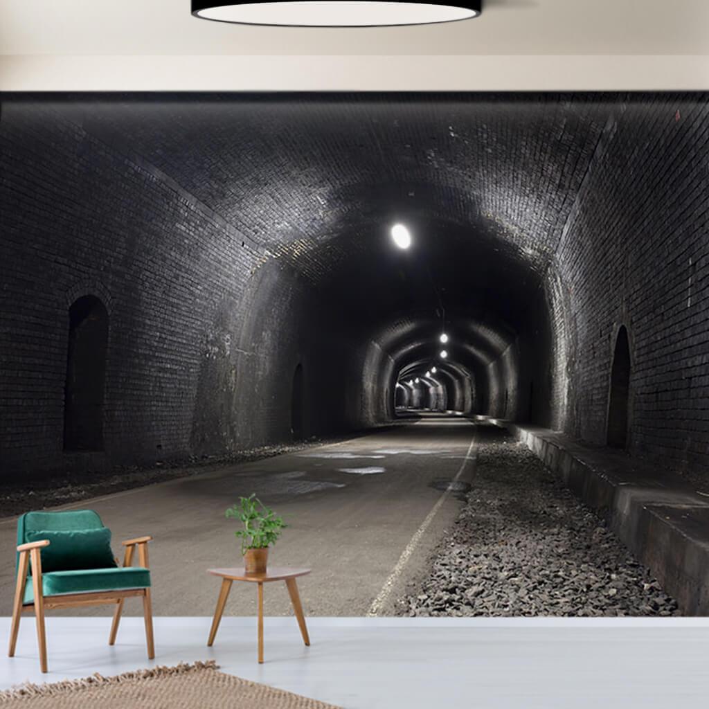 Eski Monsel Head Tüneli İngiltere 3 boyutlu duvar kağıdı
