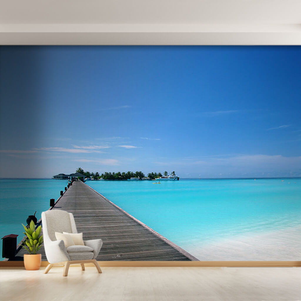Barbados Maldives Seychelles island hotel wall mural