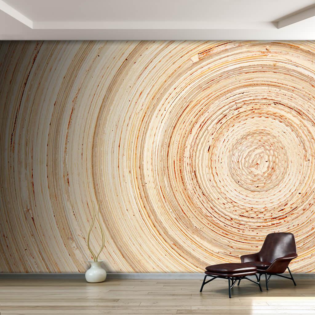 Ağaç kesiti doğal ahşap doku kereste detayı duvar kağıdı