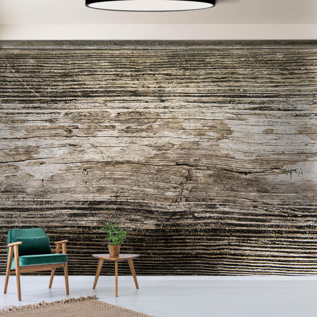 Kaba kesim ahşap kereste eski tahta dokulu duvar kağıdı