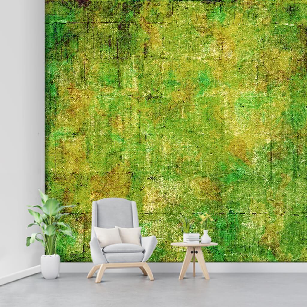 Eskitme yeşil renkleriyle soyut fon duvar kağıdı