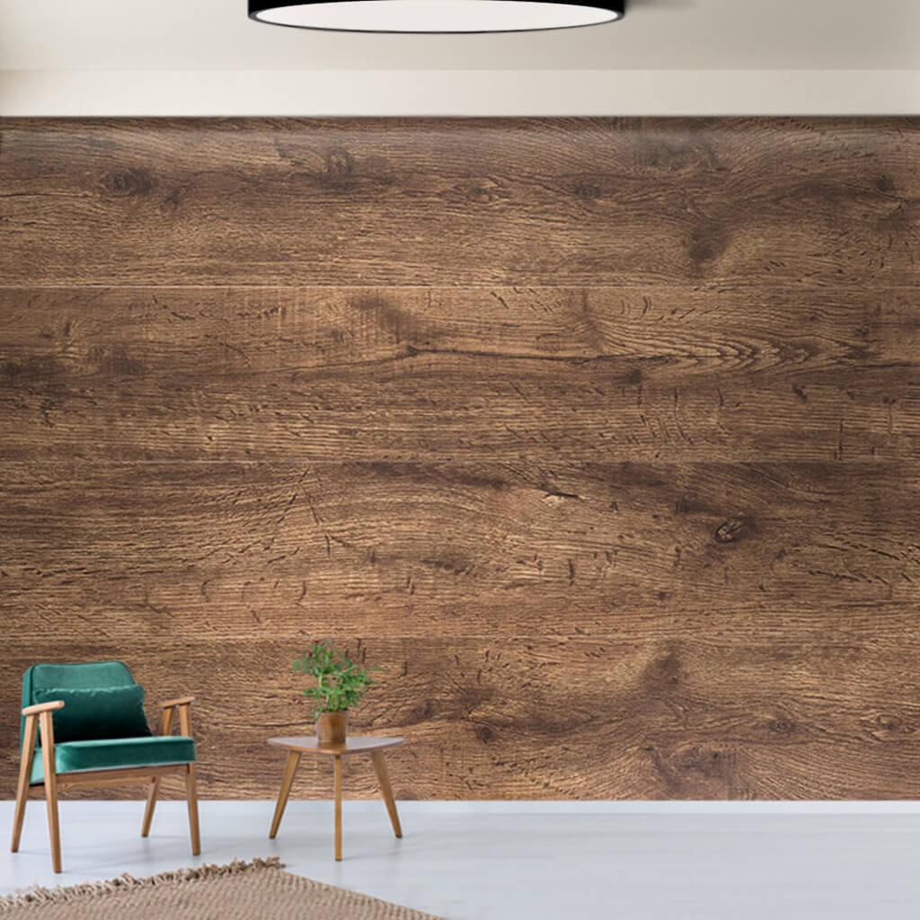 Ceviz ağacı yatay kesim ahşap döşeme tahtası duvar kağıdı