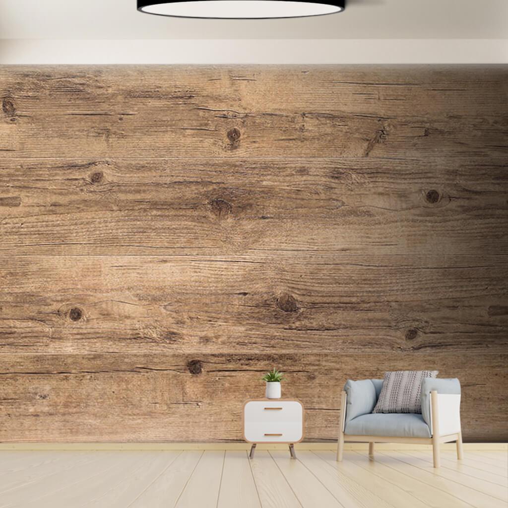 Kayın ağacı yatay kesim ahşap döşeme tahtası duvar kağıdı