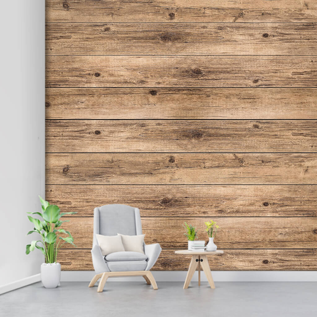 Hornbeam tree horizontal cut wood flooring board wall mural